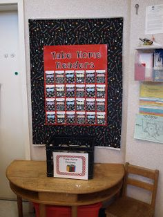 I want to make a daily check out spot in my room.  This one is from Time 4 Kindergarten: Classroom Photos Red Classroom, Classroom Setup, Classroom Design, School Classroom, Classroom Organization, School Decorations, School Themes, Polka Dot Theme, Creative Teaching Press