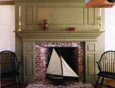 Fireplaces: Period paneling and fireplace surrounds | Old House Web