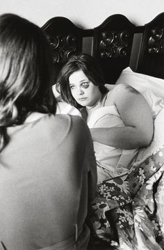 Bid now on Untitled (Girl in bed, black eye), from Tulsa by Larry Clark. View a wide Variety of artworks by Larry Clark, now available for sale on artnet Auctions. Larry Clark Photography, Book Photography, Conceptual Photography, White Photography, Robert Frank, Larry Clark Tulsa, Louise Bourgeois Art, Clark Art, Terry Richardson