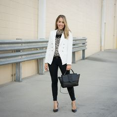 Today's Everyday Fashion:White Leopard