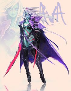 ArtStation - AVA, Ross Tran