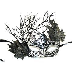 Black Fairy Masquerade Mask