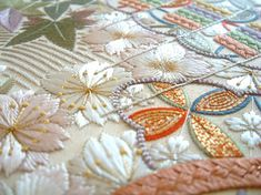 Embroidery changes and pattern mixes