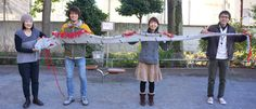 Oarfish scarf. So very, very awesome.