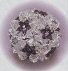 How to weave beads, beaded fullerenes -Tutorial