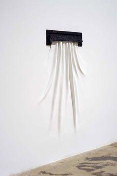 Sculpture by Daniel Arsham.