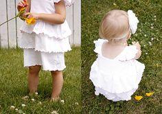Little girls' dress.