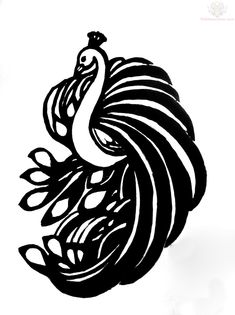 interior design of Peacock Outline Tattoo Design, and house design Peacock Outline Tattoo Design Simple Tattoo Designs, Simple Designs, Peacock Outline, Turtle Outline, Tribal Tattoos, Tatoos, Peacock Tattoo, Tattoo Outline, Black And White Drawing