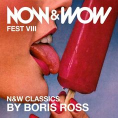 27 of my favorite Now & Wow Classics in 1 Hour !  NOW & WOW  http://www.nowandwowfest.com  BOOKINGS  hello@sensethereal.com  EVENT https://www.facebook.com/events/1702496229964208/  BORIS ROSS  https: