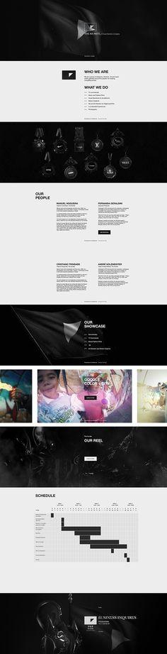 The Kumite - Online Presentation on Web Design Served