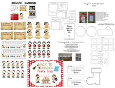 Back to School Pirate style! Lots of classroom decor, activities and math games! Beginning Of School, First Day Of School, Back To School, Pirate Day, Pirate Theme, School 2013, Pirate Fashion, Meet The Teacher, Classroom Themes