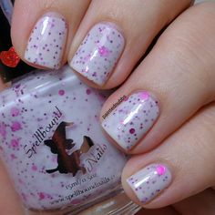 Painted Nubbs: Spellbound Nails Be My Valentine Trio Cute As A Button
