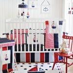 Lovely Nautical Crib Bedding Sets Image Ideas