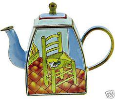 KELVIN CHEN Enamel Mini Teapot- Chair by VAN GOGH