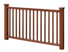 Shop our selection of Deck Railing Kits in the section of Deck Railings in the Building Materials Department at The Home Depot Canada Vinyl Deck Railing, Black Stair Railing, Front Porch Railings, Deck Railing Design, Deck Stairs, Deck Railings, Railing Ideas, Home Depot, Aluminum Pool Fence