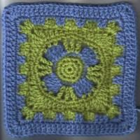 "Castle's End Square (8""inches) - Free Original Patterns - Crochetville"