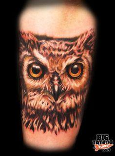 owls forever... #owltattoo