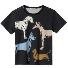 Cotton jersey T-shirt - Black - 107635