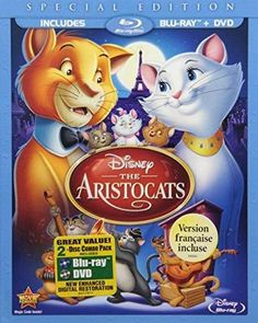 The Aristocats (Special Edition Blu-ray) Phil Harris (voice), Eva Gabor (voice), Scatman Crothers (voice), Sterling Holloway (voice)