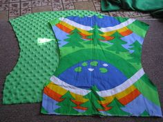 How to sew a Fully Reversible Turned & Topstitched Mei Tai | LunamothMama's Crafty Stuff
