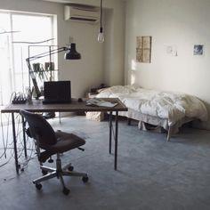 yasuakiさんの、無印良品,IKEA,DIY,メンズ部屋,NO GREEN NO LIFE,賃貸,一人暮らし,部屋全体,のお部屋写真