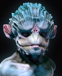 Tagged with sci fi, aliens, mythical creatures, scifisunday; Alien Concept Art, Creature Concept Art, Alien Creatures, Fantasy Creatures, Creature Feature, Creature Design, Alien Character, Character Art, Zbrush