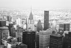 New York City Skyline: Have fun looking out over the skyscrapers and rooftops of Manhattan while standing on the Empire State Building's observation deck. Make sure to take in one of the best views of the Chrysler Building in midtown!