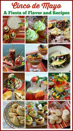 Cinco de Mayo: A Fiesta of Flavor and Recipes!   homeiswheretheboatis.net #dessert #appetizer #party