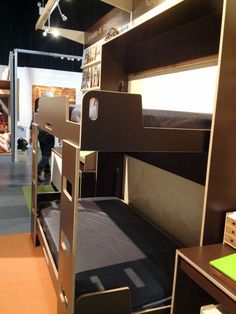 Wall-mounted Murphy Bed Bunk Bed | Murphy bed, Bunk bed and Wall mount