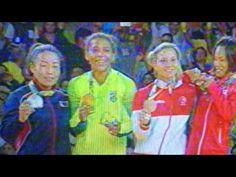 Rafaela Silva. Medalha de Ouro Olímpica para o Brasil  Rafa no Podium
