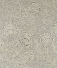 Hebe Wallpaper in Platinum | Nesfield collection by Liberty Art Fabrics - Interiors | Liberty.co.uk