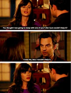 I'm all yours, Nick Miller <3