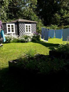 Vasketøj i haven