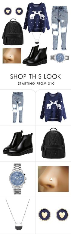 """""""Sans titre #176"""" by ri-hab on Polyvore featuring beauté, WithChic, GUESS, White House Black Market et Brooks Brothers"""