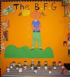 Roald Dahl The BFG » Classroom Displays