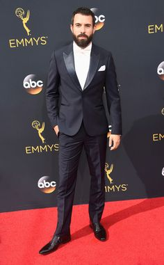 Tom Cullen from 2016 Emmys Red Carpet Arrivals | E! Online