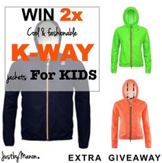 Win actie K*Way Smaller Hips, Hip Bag, Rainy Days, People, Kids, Jackets, Fashion, Young Children, Down Jackets