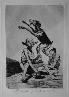 """Francisco de Goya y Lucientes, """"Caprichos"""" 60-67"""