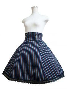 Atelier Pierrot Puella Skirt Navy