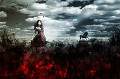 Create an Artistic Photo Manipulation of a Girl in a Red Field | Photoshop Tutorials