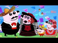 Día de los muertos en México con Peppa Pig // Halloween peppa pig - YouTube