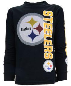 Outerstuff Boys  Long-Sleeve Pittsburgh Steelers Mirage T-Shirt - Sports  Fan Shop By Lids - Men - Macy s beb373a09