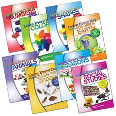 Learn Every Day™ Series (Set of 8) have tons of useful activities in each book!