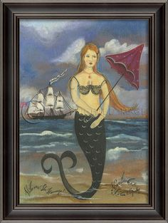 Nantucket Mermaid - Love Kolene Spicher's work!