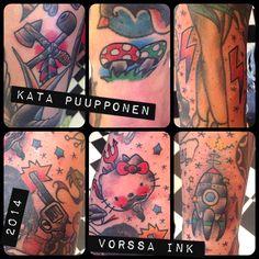 https://www.facebook.com/VorssaInk, http://tattoosbykata.blogspot.fi, #tattoo #tatuointi #katapuupponen #vorssaink #forssa #finland #traditionaltattoo #suomi #oldschool #pin up #fillers