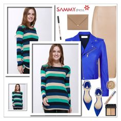 """""""Sammydress 37/1"""" by sabinakopic ❤ liked on Polyvore featuring Victoria, Victoria Beckham, Paul Andrew, Alexander Wang, NARS Cosmetics, Aromatherapy Associates, Urban Decay, sammydress and lovesammy"""