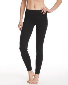 zinni™ by Garnet Hill Signature Yoga Leggings