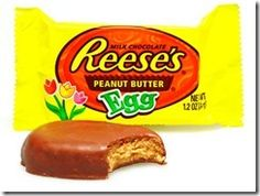 DIY Reeses Peanut Butter Egg  I love Easter morning-the only morning where eating as many of these for breakfast can be justified!