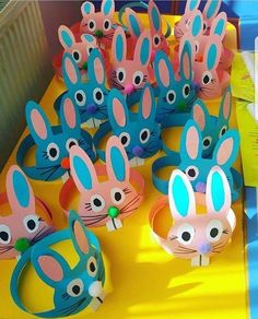 15 Brilliant and Clever Ideas Easter Crafts for Kids www. - 15 Brilliant and Clever Ideas Easter Crafts for Kids www. Headband Crafts, Hat Crafts, Bunny Crafts, Crafts To Do, Decor Crafts, Easter Crafts For Toddlers, Easter Crafts For Kids, Toddler Crafts, Preschool Crafts