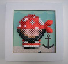 pirat perler beads